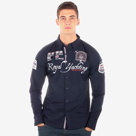 Chemise Geographical Norway Zigoma Marine