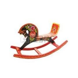 cheval bascule bois artisanat russe neuf et d 39 occasion. Black Bedroom Furniture Sets. Home Design Ideas