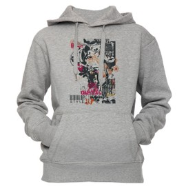 new arrival 20910 2d6e6 chic-style-unisexe-homme-femme -sweat-a-capuche-sweat-shirt-pull-over-gris-toutes-les-tailles-unisex-men-39-s-women-39-s-hoodie-sweatshirt-pullover-grey-all-  ...