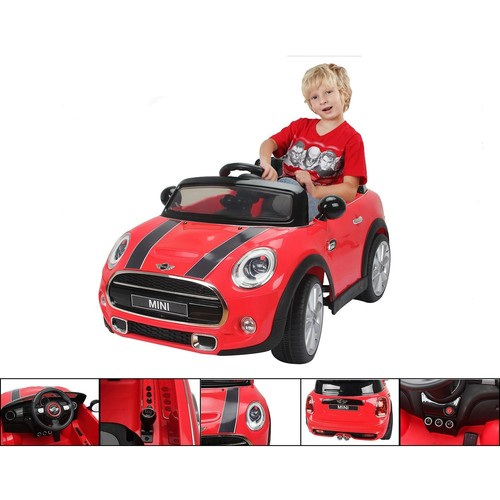 voiture l ctrique voiture pour enfants mini rouge 6v vitesse 3 km h. Black Bedroom Furniture Sets. Home Design Ideas