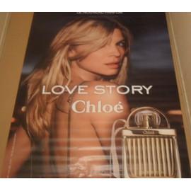 Pub Parfum Love Affiche 119x166 Story Chloe E2HID9