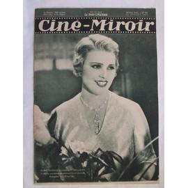Cine Miroir N� 381 : Elvire Popesco, La Vedette De Sa Meilleure Cliente,Que Realise Actuellement Piere Colombier.