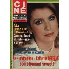 Ciné Revue / 02-02-1984 N° 5 : Catherine Deneuve (2p - cine-revue-02-02-1984-n-5-catherine-deneuve-2p-clint-eastwood-2p-laurent-malet-2p-dalida-1-4p-johnny-weismuller-5p-yann-le-gac-3p-john-forsythe-4p-revue-871954671_ML