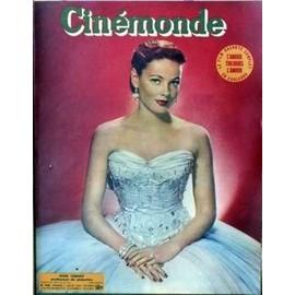 Cinemonde N� 936 Du 11/07/1952 - L'amour Toujours L'amour. Gene Tierney Professeur Deseduction.