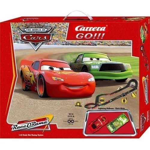 Circuit Electrique Cars Go Disney Pixar Cars