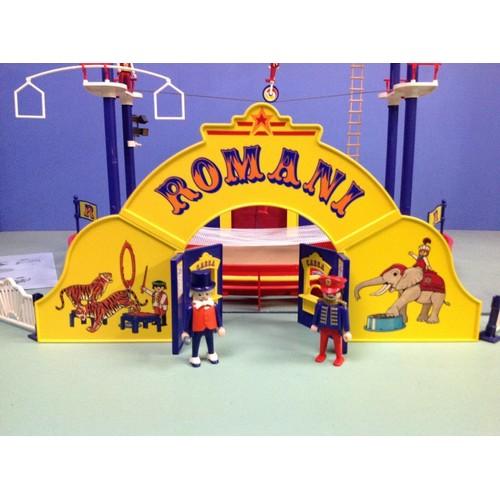 Playmobil 3720 cirque romani achat vente de jouet - Cirque playmobil ...