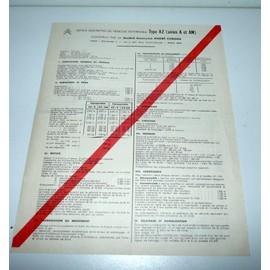 citroen 2 cv type az certificat de conformit de 1967 priceminister rakuten. Black Bedroom Furniture Sets. Home Design Ideas