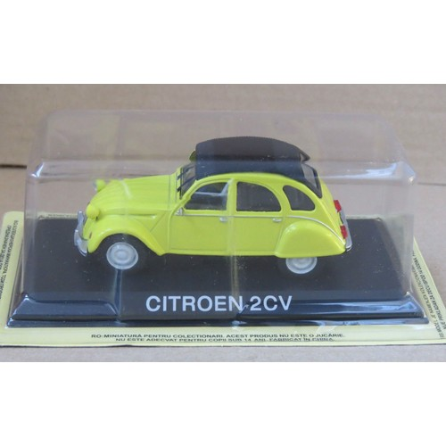 citroen 2cv voiture miniature collection 1 43 ixo ist. Black Bedroom Furniture Sets. Home Design Ideas