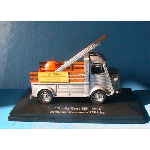 citroen type hp 1956 camionnette macon 1200kg eligor 1 43. Black Bedroom Furniture Sets. Home Design Ideas