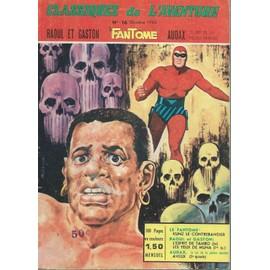 Classiques De L'aventure N� 16 ( Octobre 1965 ) : Le Fant�me (