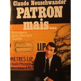 Patron mais entretiens avec bernard guetta - Neuschwander de ...