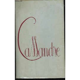 Cassandre de Claude Tille