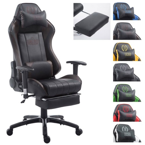 clp fauteuil de bureau shift xl racing rev tement en similicuir capacit de charge max 150 kg. Black Bedroom Furniture Sets. Home Design Ideas