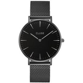 Montre Cluse Pour Femme La Bohème Mesh Full Noir Cl18111