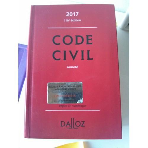 code civil 2017 dalloz pdf