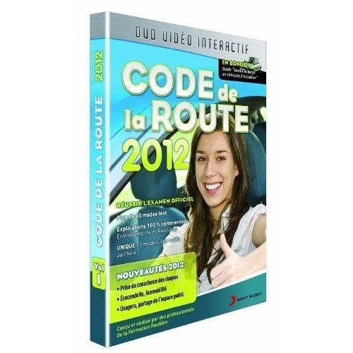 code de la route 2012 dvd zone 2 priceminister rakuten. Black Bedroom Furniture Sets. Home Design Ideas