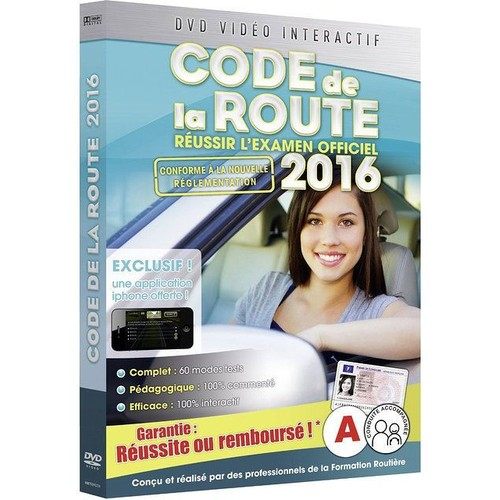 code de la route 2016 dvd zone 2 priceminister rakuten. Black Bedroom Furniture Sets. Home Design Ideas