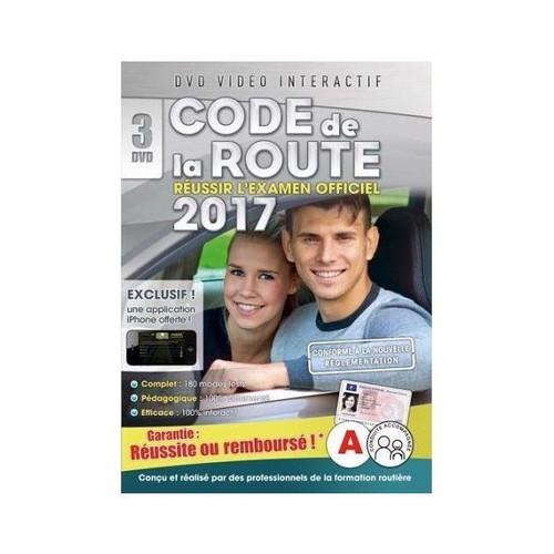 code de la route 2017 3 dvd dvd interactif dvd zone 2 rakuten. Black Bedroom Furniture Sets. Home Design Ideas