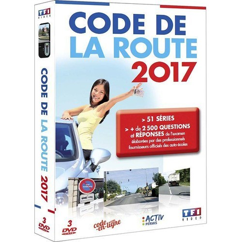 code de la route 2017 dvd interactif dvd zone 2. Black Bedroom Furniture Sets. Home Design Ideas