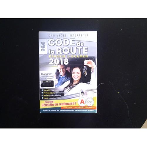 code de la route 2018 3 dvd dvd interactif dvd zone 2. Black Bedroom Furniture Sets. Home Design Ideas