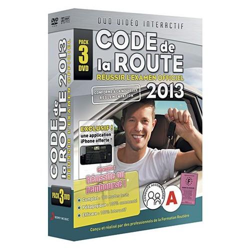 code de la route r ussir l 39 examen officiel 2013 dvd zone 2. Black Bedroom Furniture Sets. Home Design Ideas