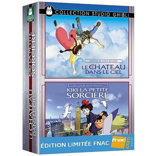 coffret collection studio ghibli le ch teau dans le ciel kiki la petite sorci re edition. Black Bedroom Furniture Sets. Home Design Ideas