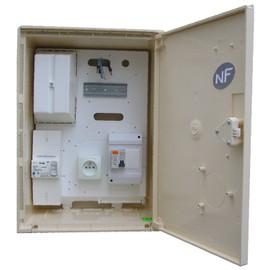 coffret compteur de chantier edf 15 45 amp 3 6 9 kva pas cher. Black Bedroom Furniture Sets. Home Design Ideas