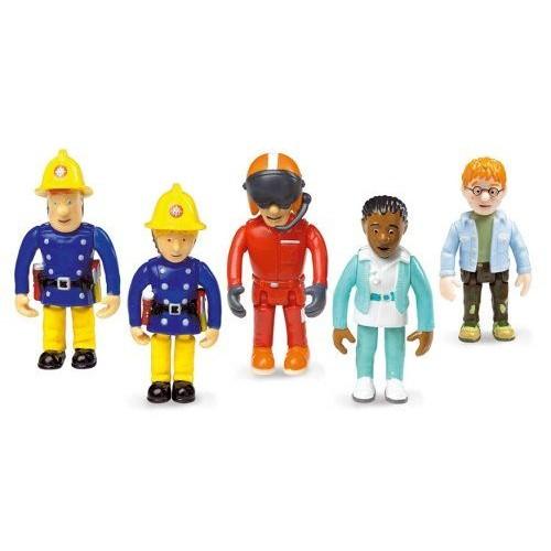 coffret de 5 figurines sam le pompier achat et vente rakuten. Black Bedroom Furniture Sets. Home Design Ideas