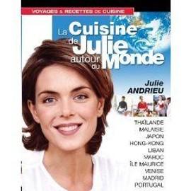 Coffret La Cuisine De Julie Andrieu Autour Du Monde - Vol. 1 A 3 de De Balasy, Etienne