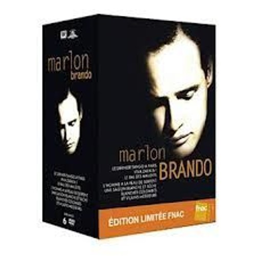 Coffret marlon brando 6 films edition limit e fnac - Code avantage aroma zone frais de port ...