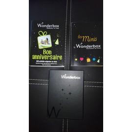 Coffret Wonderbox Bon Anniversaire Achat Et Vente Rakuten