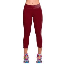 Collants pantalon pantacourt leggings femme taille haute for Haute 8 yoga
