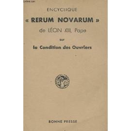 collectif-encyclique-rerum-novarum-de-leon-xiii-pape-sur-la-condition-des-ouvriers-livre-ancien-876202029_ML Amos dans Communauté spirituelle