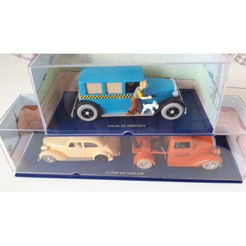 collection compl te 70 voitures en voiture tintin 1 43 rakuten. Black Bedroom Furniture Sets. Home Design Ideas