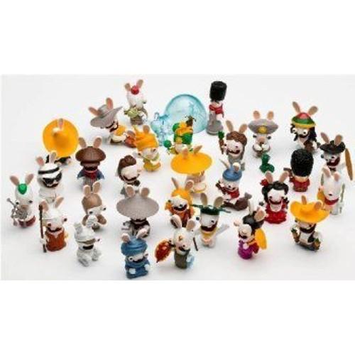 collection compl te 30 figurines lapins cr tins envahissent le monde. Black Bedroom Furniture Sets. Home Design Ideas
