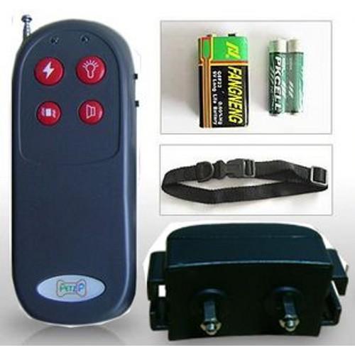 collier chien de dressage et anti aboiement trainer 4 fonctions 4 in 1. Black Bedroom Furniture Sets. Home Design Ideas