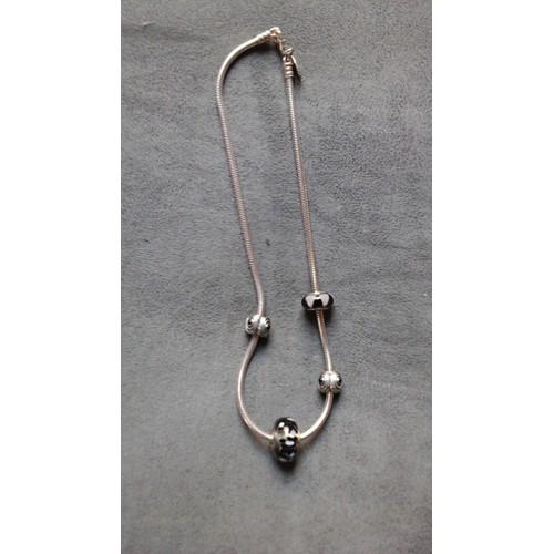 80196c8d3 ... greece collier pandora argent maille serpent 4 charms f593e 8bd42