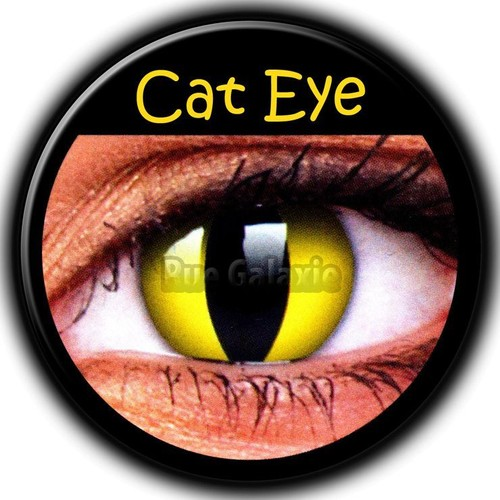 colourvue crazy lens lentilles de contact couleur cat eye. Black Bedroom Furniture Sets. Home Design Ideas