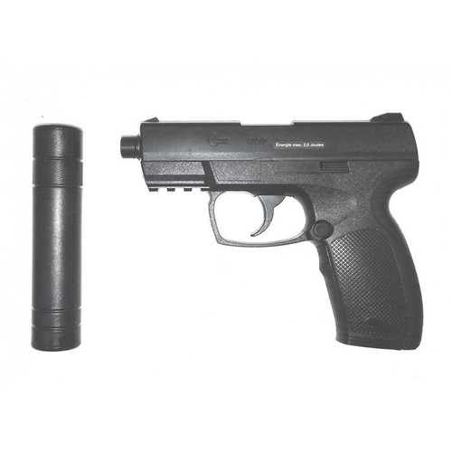 combat zone cop sk co2 canon metal rail silencieux umarex 25958 airsoft pistolet a bille. Black Bedroom Furniture Sets. Home Design Ideas