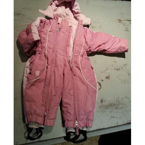 combinaison de ski quechua 12 mois fille achat et vente. Black Bedroom Furniture Sets. Home Design Ideas