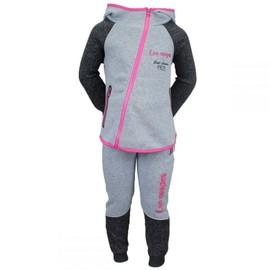 85d633427d66b Combinaison De Survêtement Pour Le Jogging Et Le Sport Enfant Fille En Gris  Clair T  8 ...