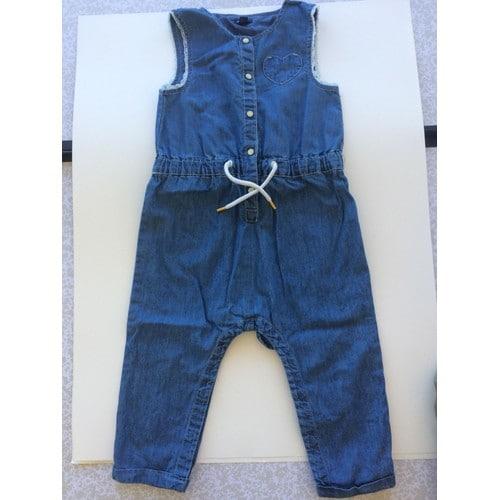 c3b91902d7b2d Combinaison Kiabi Pantalon 18 Mois Bleu Vetement Bébé Fille - Rakuten