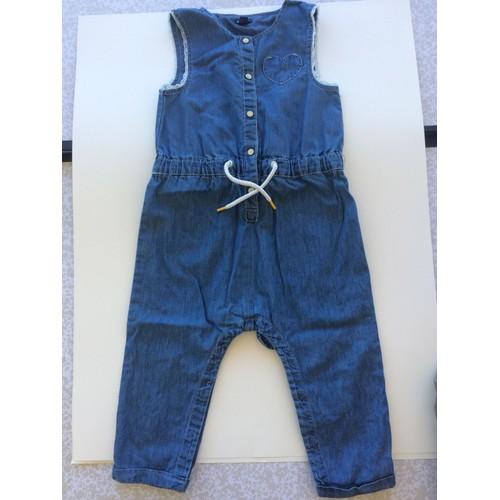 f05f70dcfdad8 Combinaison Kiabi Pantalon 18 Mois Bleu Vetement Bébé Fille - Rakuten