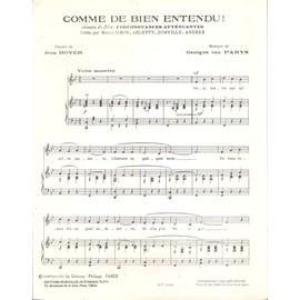 d23e8a6485af18 Comme De Bien Entendu - Achat vente de Partition et Songbook - Rakuten