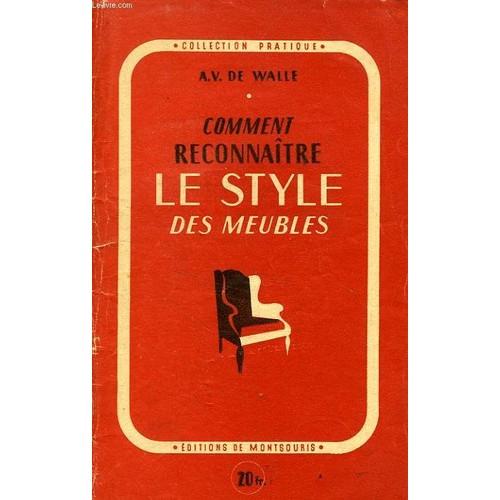 Comment reconnaitre le style des meubles de de walle a v - Comment reconnaitre de l ivoire ...