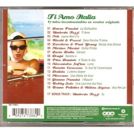les 17 plus belles chansons italiennes compilation cd album. Black Bedroom Furniture Sets. Home Design Ideas