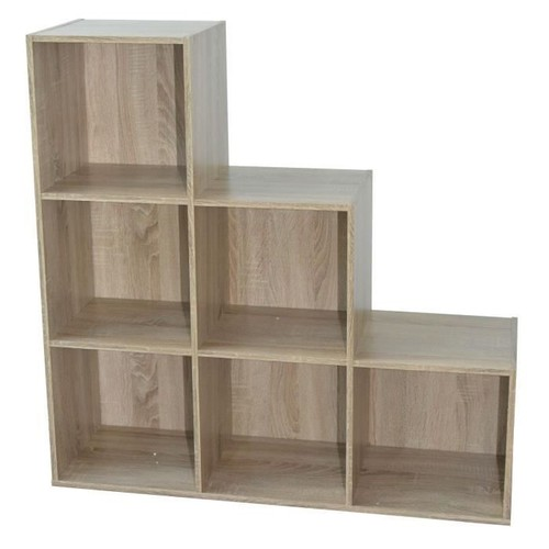 compo cube escalier 6 cases coloris chene neuf et d 39 occasion. Black Bedroom Furniture Sets. Home Design Ideas