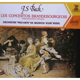 Concertos Brandebourgeois - Oeuvre Int�grale - Orchestre
