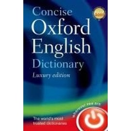 Concise Oxford English Dictionary. Luxury Edition de