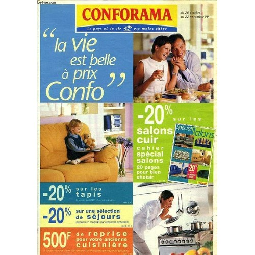 Conforama, Catalogue, Oct.-Nov. 1999 de COLLECTIF - Rakuten